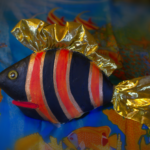 рыбка-полосатик