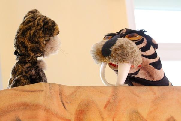 Кот Барсик и саблезубый тигр