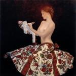 Анджей Малиновски Девушка с марионеткой