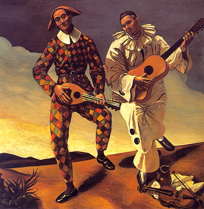 Андре Дерен Арлекин и Пьеро 1924