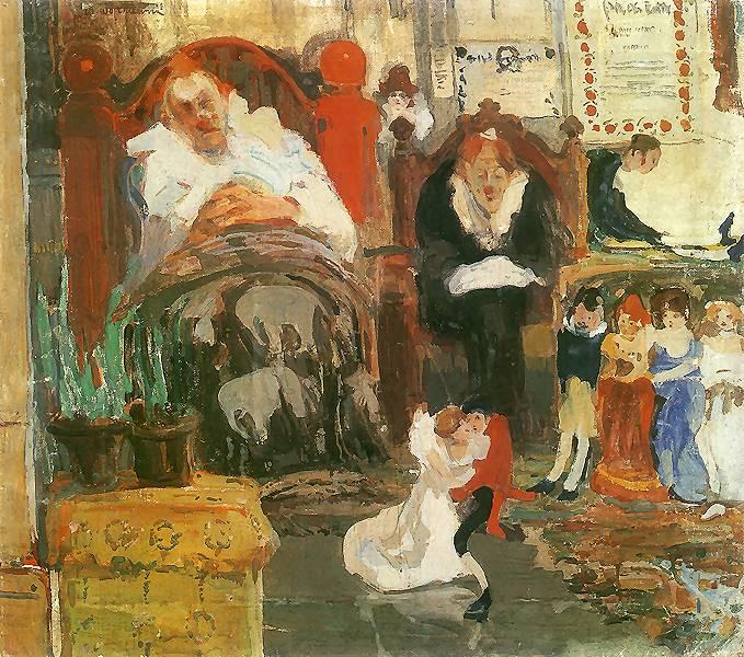 Витольд Войткевич Марионетки 1907