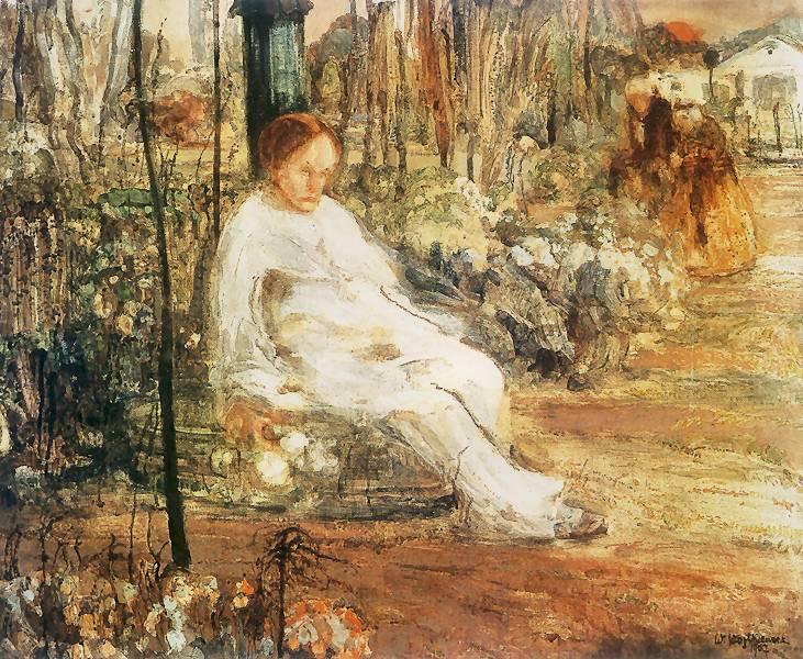 Витольд Войткевич Одинокий Пьеро 1907