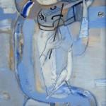 Горшунова Татьяна.Пьеро, играющий на скрипке 2002