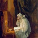 Джон Слоун Гримирующийся клоун 1909