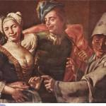 Дж.Бонитто Маскарад с Пульчинеллой
