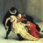 Жан Леон Жером  Дуэль после маскарада  (фагмент) 1857