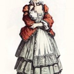 Коломбина, 9Фантеска, Фьяметта, Смеральдина и т. п.,) — служанки