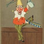 Лотар Меггендорфер. Мюнхенский Каспер. книжная иллюстрация. 1867