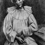 Пабло Пикассо Пьеро с маской 1918