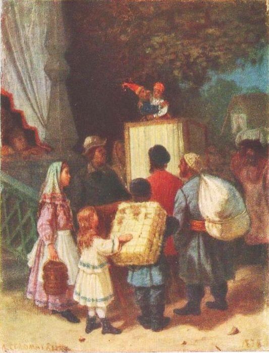 Соломаткин Леонид Иванович  Петрушка  1878