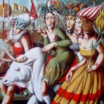 Тигран Петросян (Tigran Petrosian) The Bull and Women