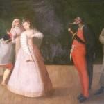 Труппа «Джелози», фламандский художник конца XVI