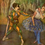 Edgar Degas  Harlequin and Colombina