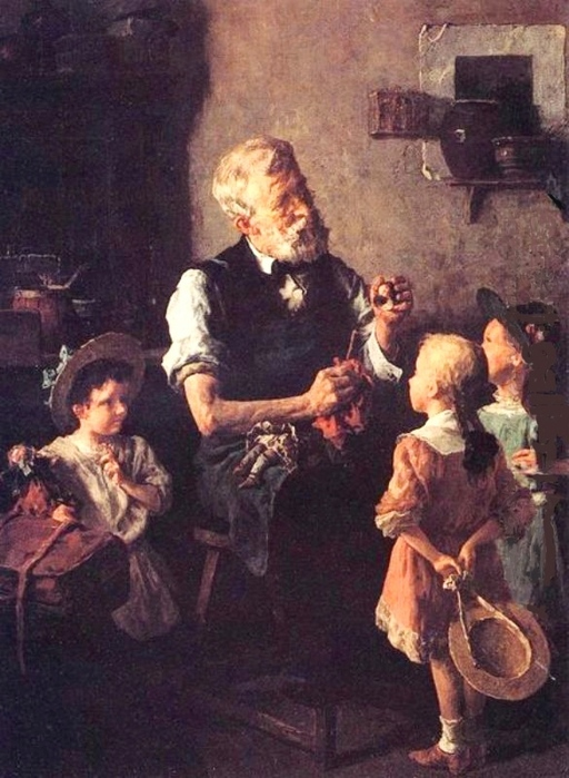Louis Charles Moeller   The Dollmaker