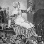 Petits Metiers  Мarionnettiste. La couturière de poupée  Кукольница. Портниха для куклы