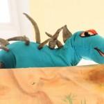 Синий динозавр