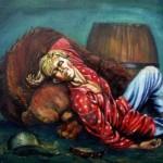 Андрей Цепков.Пьяный скоморох