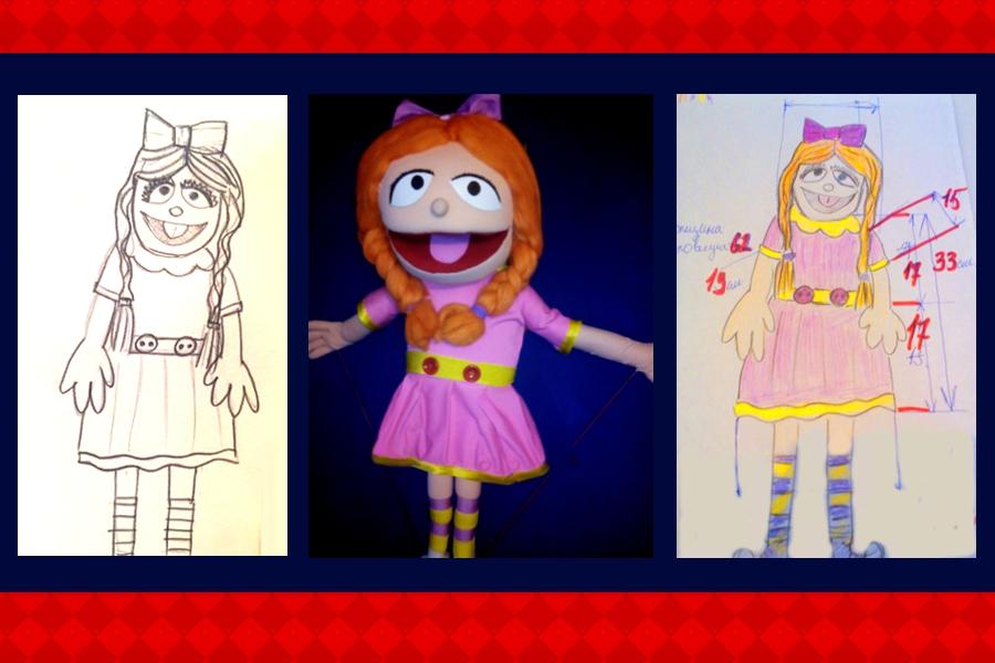 Изготовление куклы Девочка
